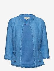 Cream - Neru cardigan - blazers - provence blue - 0