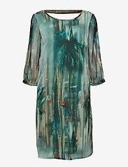 Cream - Jeanne Dress - robes longeur du midi - malachite green - 0
