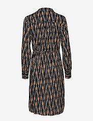 Cream - Karoline Wrap Dress - kietaisumekot - pitch black - 1