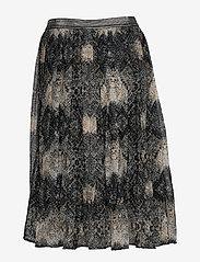 Cream - Shaky skirt - midi - pitch black - 1