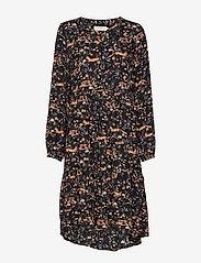 Cream - Foxy dress - midimekot - pitch black - 0