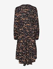 Cream - Foxy dress - midimekot - pitch black - 1
