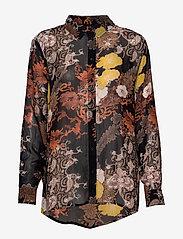 Cream - MargauxCR Shirt FSC - blouses à manches longues - pitch black - 0