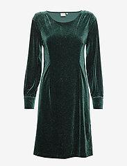 Cream - OliveCR Dress - robes de fête - deep green - 0