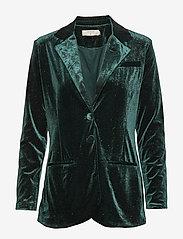 Cream - OliveCR Blazer - vestes tailleur - deep green - 0