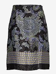 Cream - CarolynaCR Skirt - jupes midi - pitch black - 0