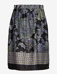 Cream - CarolynaCR Skirt - jupes midi - pitch black - 1