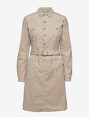 Cream - SiljaCR Dress - shirt dresses - light beige - 0