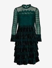 Cream - LizzyCR Dress - robes de fête - deep green - 0