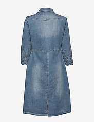 Cream - RositaCR Denim Dress - jeanskleider - light blue denim - 1