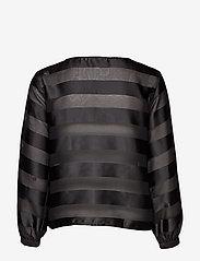 Cream - MillieCR Blouse - blouses à manches longues - pitch black - 1