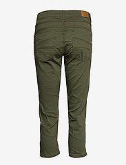 Cream - VavaCR 3/4 Pant coco fit - straight jeans - burnt olive - 1