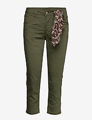 Cream - VavaCR 3/4 Pant coco fit - straight jeans - burnt olive - 2