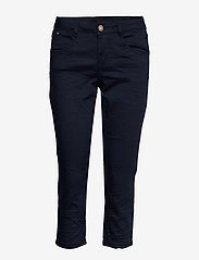 Cream - VavaCR 3/4 Pant coco fit - straight jeans - royal navy blue - 0