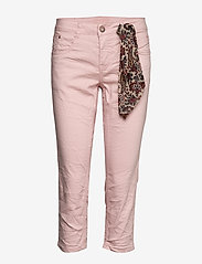 Cream - VavaCR 3/4 Pant coco fit - straight jeans - spring pink - 2