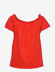 Cream - ToriCR T-shirt - t-shirts - aurora red - 1