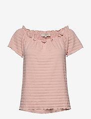 Cream - ToriCR T-shirt - t-shirts - spring pink - 0