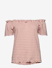 Cream - ToriCR T-shirt - t-shirts - spring pink - 2