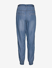 Cream - VincaCr cargopants - pantalons casual - blue denim - 1