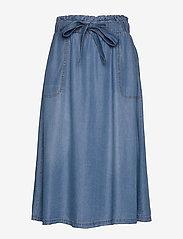 Cream - VincaCr skirt - jeansowe spódnice - blue denim - 0