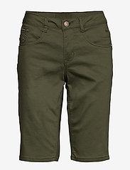 Cream - VavaCR Shorts - Coco Fit - bermuda-shortsit - burnt olive - 0