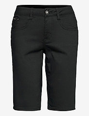 Cream - VavaCR Shorts - Coco Fit - bermudas - pitch black - 0