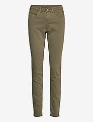 Cream - LotteCR Plain Twill - Coco Fit - skinny jeans - burnt olive - 0