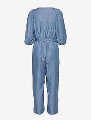 Cream - VincaCR Jumpsuit - buksedragter - blue denim - 1