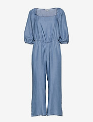 Cream - VincaCR Jumpsuit - buksedragter - blue denim - 2