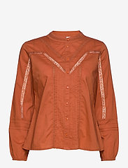 Cream - StellaCR Shirt - chemises à manches longues - baked clay - 0