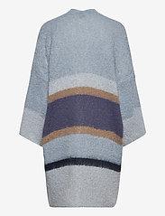 Cream - SinaCR Cardigan - swetry rozpinane - blue beige stripe - 1