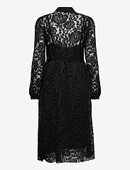 Cream - AliciaCR Lace Dress - cocktail-kjoler - pitch black - 1