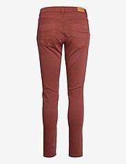 Cream - HollyCR Twill Pants - Baiily Fit - straight regular - henna - 1