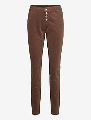 Cream - CorryCR Corduroy Jeans - Baiily Fit - straight regular - carafe - 0