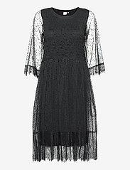Cream - CRBodil Dress - cocktail-kjoler - pitch black - 0