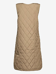 Cream - CRMelika Quilted Waistcoat - puffer vests - silver mink - 2