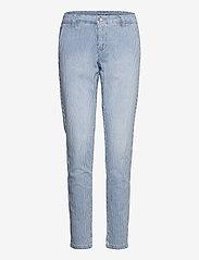 Cream - CRElsa Chino Pant - chinos - blue milkboy stripe - 0