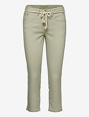 Cream - CRVava Pant 3/4 - Coco Fit - straight regular - desert sage - 0