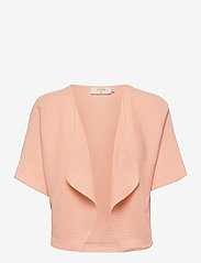 Cream - CRSillar Knit Bolero - swetry rozpinane - pink sand - 0