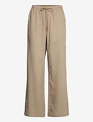 Cream - CRVenta Pant - bukser med brede ben - timber wolf - 0