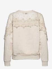 Cream - CRKalanie Sweatshirt - trøjer - eggnog - 1