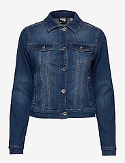 Cream - Lisa Denim Jacket - farkkutakit - rich blue denim - 0