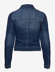 Cream - Lisa Denim Jacket - farkkutakit - rich blue denim - 1