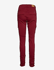 Cream - LinaCR Pants - broeken med skinny fit - merlot red - 1