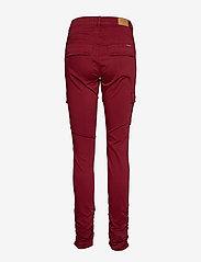 Cream - LinaCR Pants - broeken med skinny fit - merlot red - 1