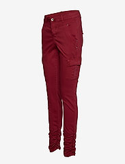 Cream - LinaCR Pants - broeken med skinny fit - merlot red - 2