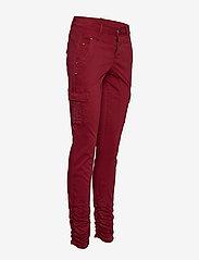 Cream - LinaCR Pants - broeken med skinny fit - merlot red - 3