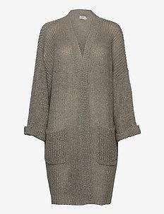 Sally kimono - swetry rozpinane - oat melange