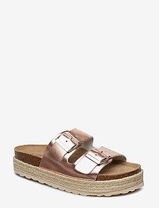 Elsa sandal - CONTOUR BLUSH