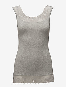 Florence Top - light grey melange